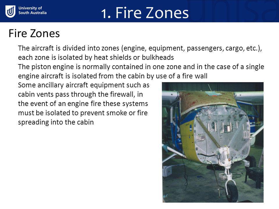 1. Fire Zones Fire Zones.
