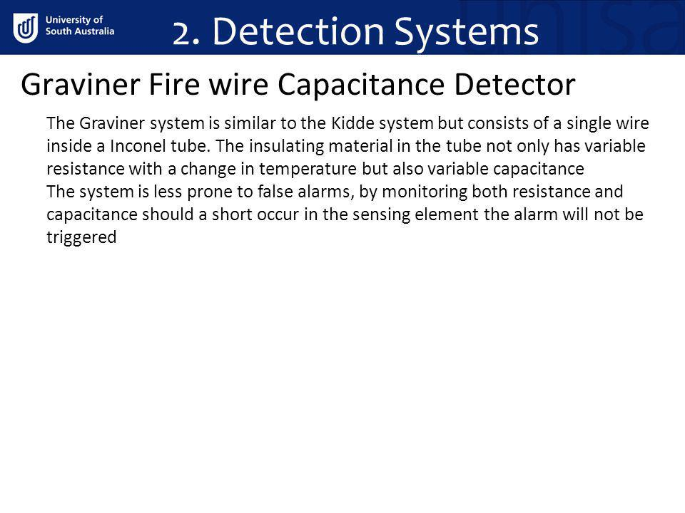 2. Detection Systems Graviner Fire wire Capacitance Detector