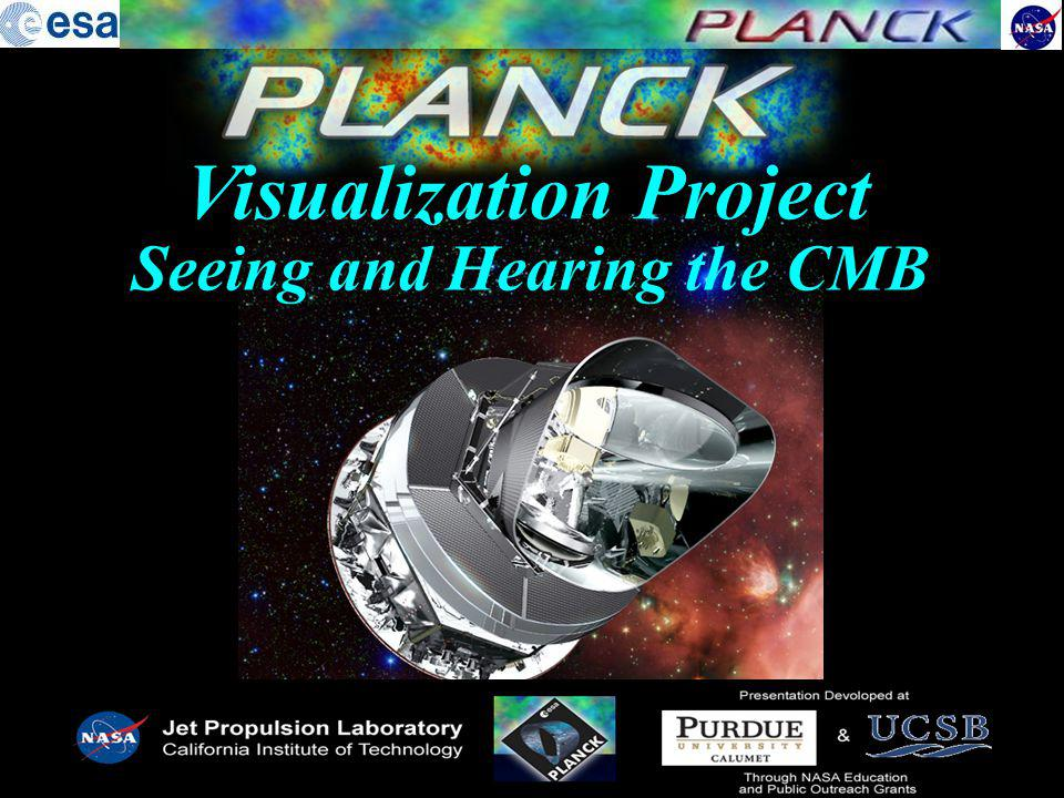 Visualization Project Seeing and Hearing the CMB
