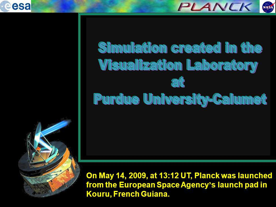 Simulation created in the Visualization Laboratory at