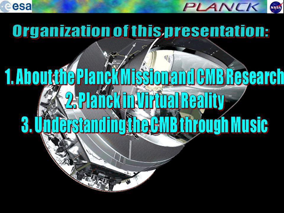 Organization of this presentation: