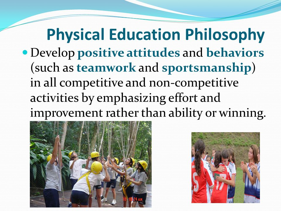 Physical Education Philosophy