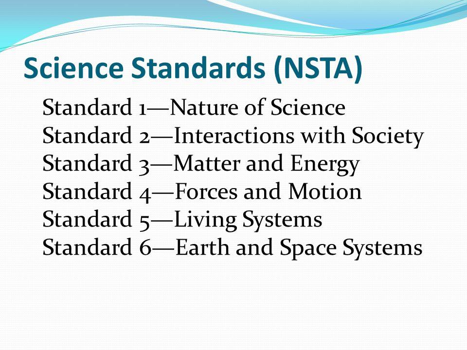 Science Standards (NSTA)