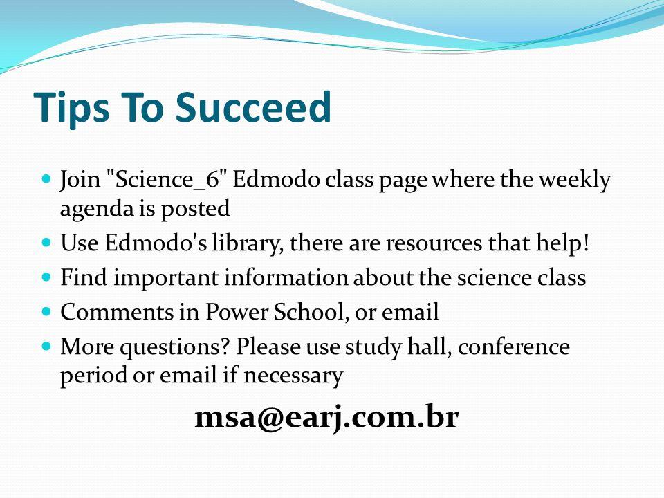 Tips To Succeed msa@earj.com.br