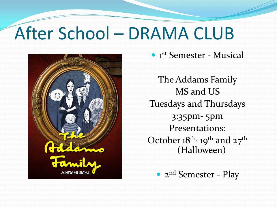 After School – DRAMA CLUB