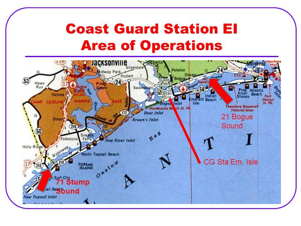 Coast Guard Station EI Area of Operations