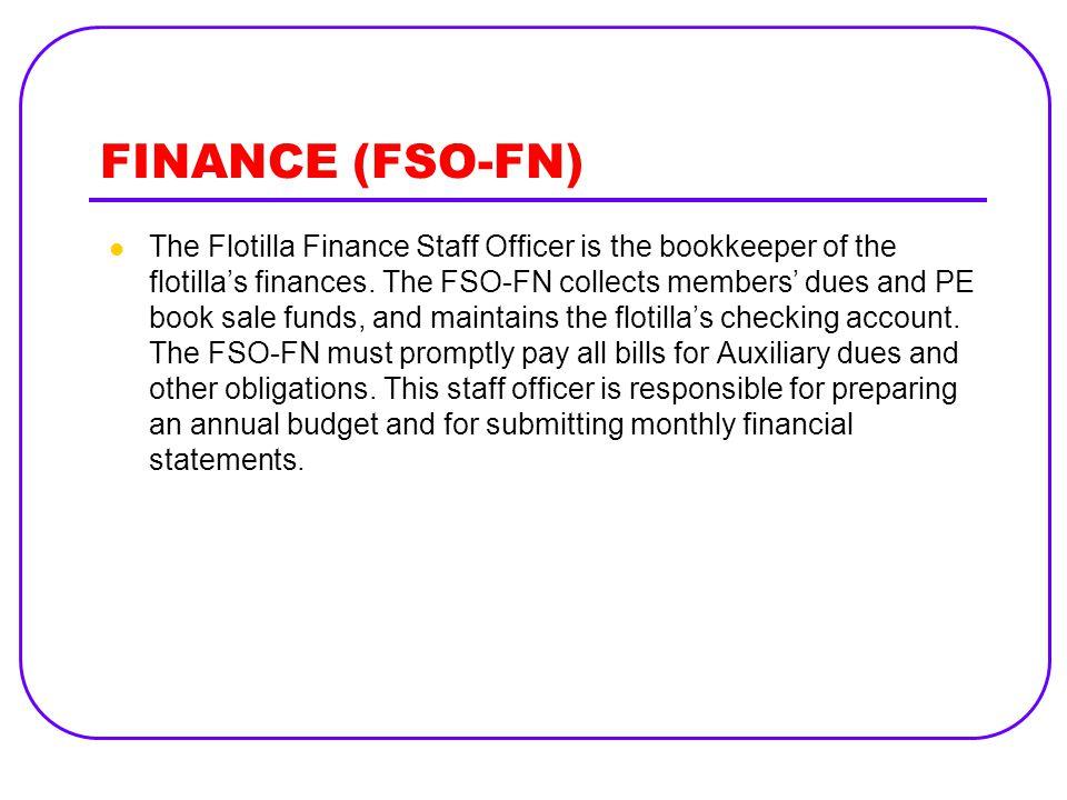 FINANCE (FSO-FN)