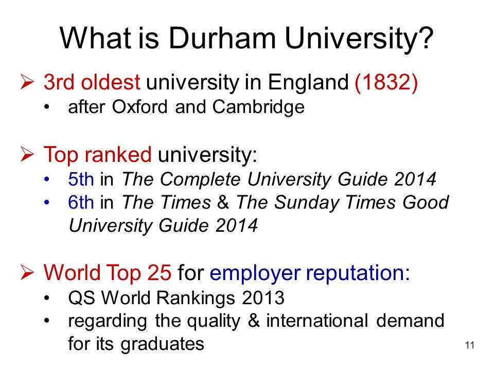 What is Durham University