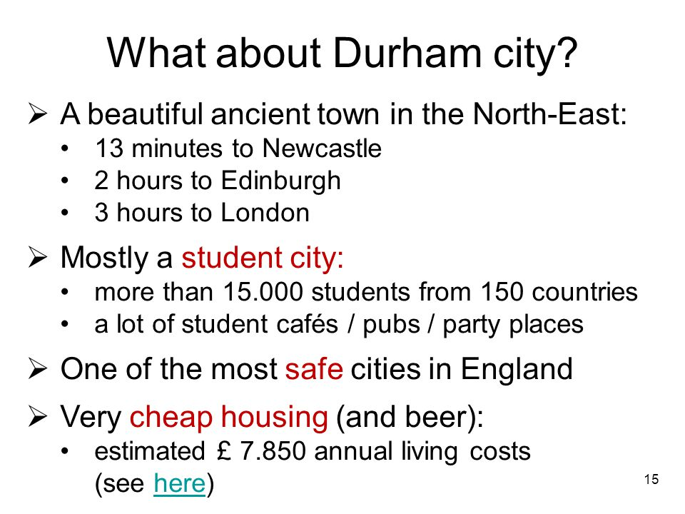 What about Durham city A beautiful ancient town in the North-East: