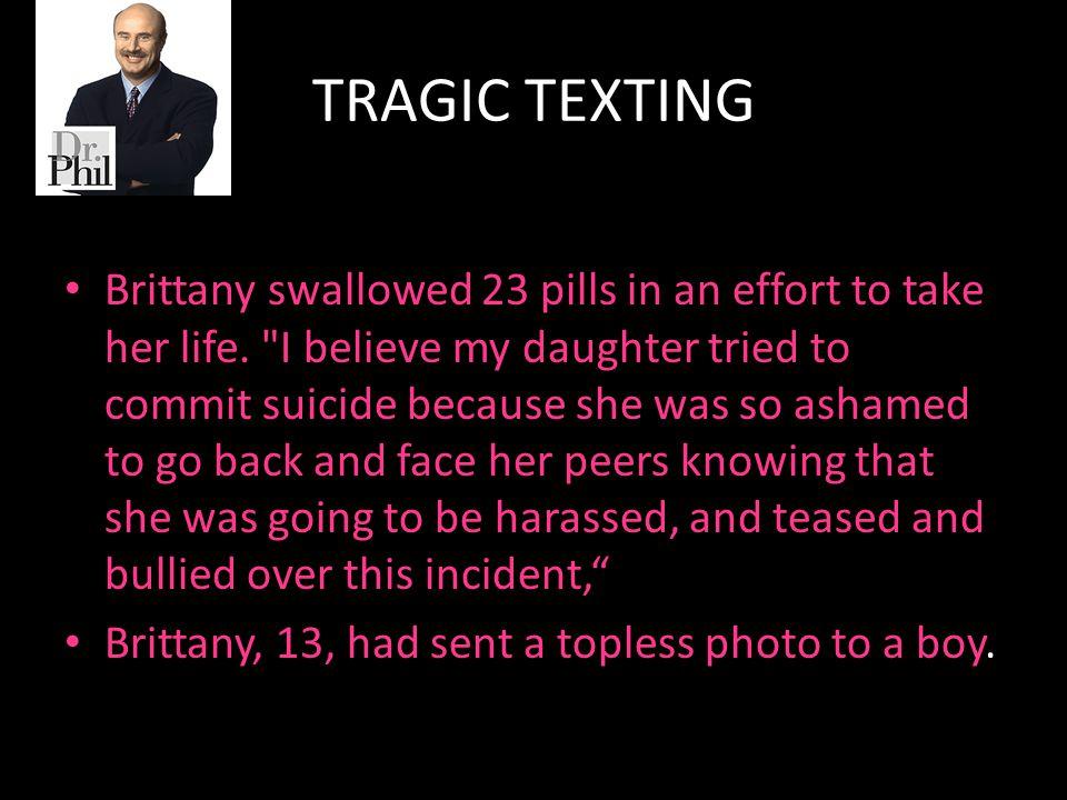 TRAGIC TEXTING