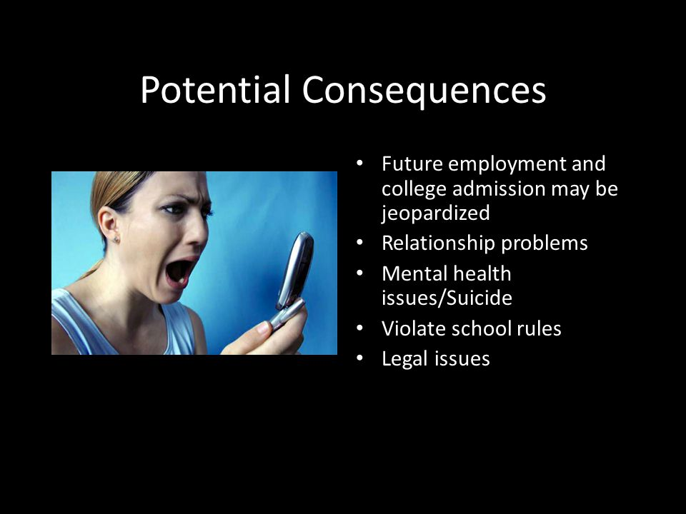 Potential Consequences