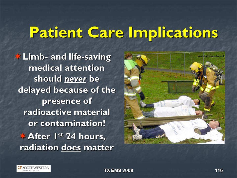 Patient Care Implications