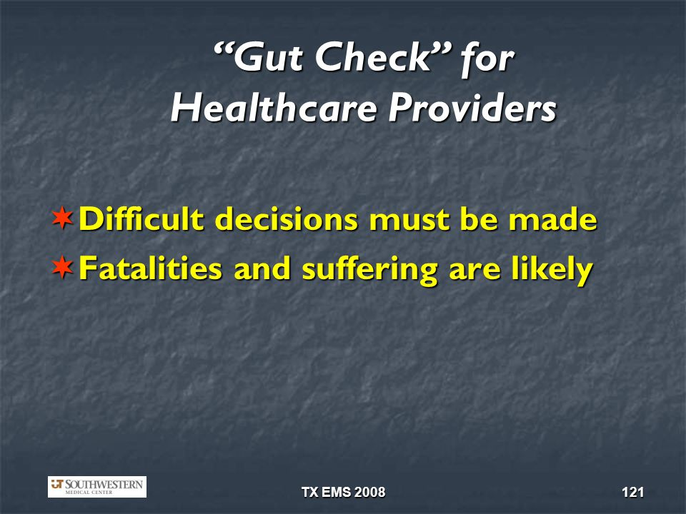 Gut Check for Healthcare Providers