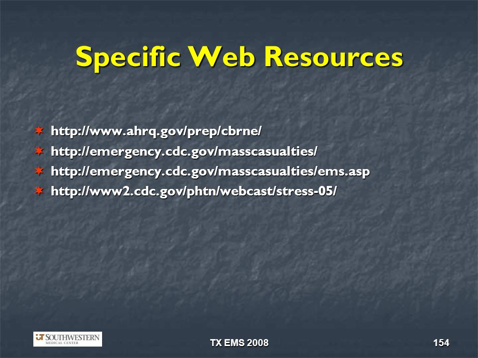 Specific Web Resources
