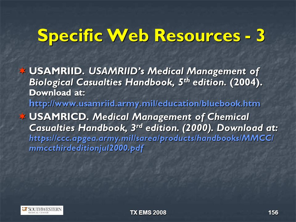 Specific Web Resources - 3