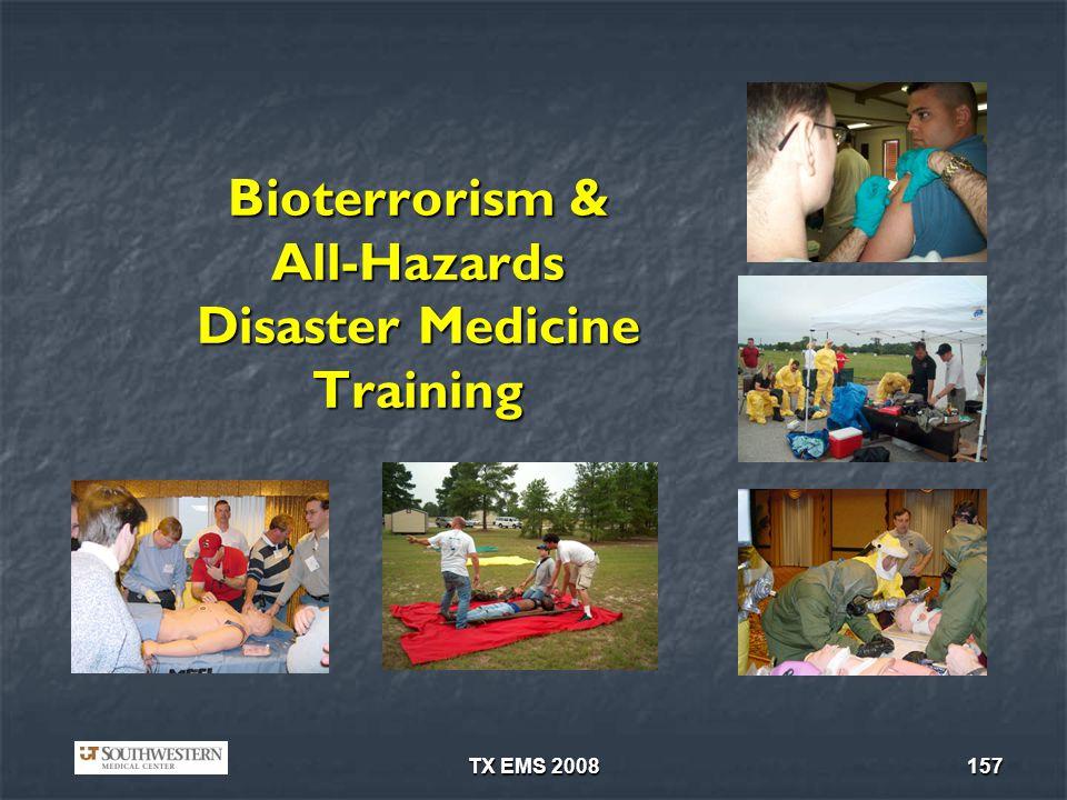 Bioterrorism & All-Hazards Disaster Medicine Training