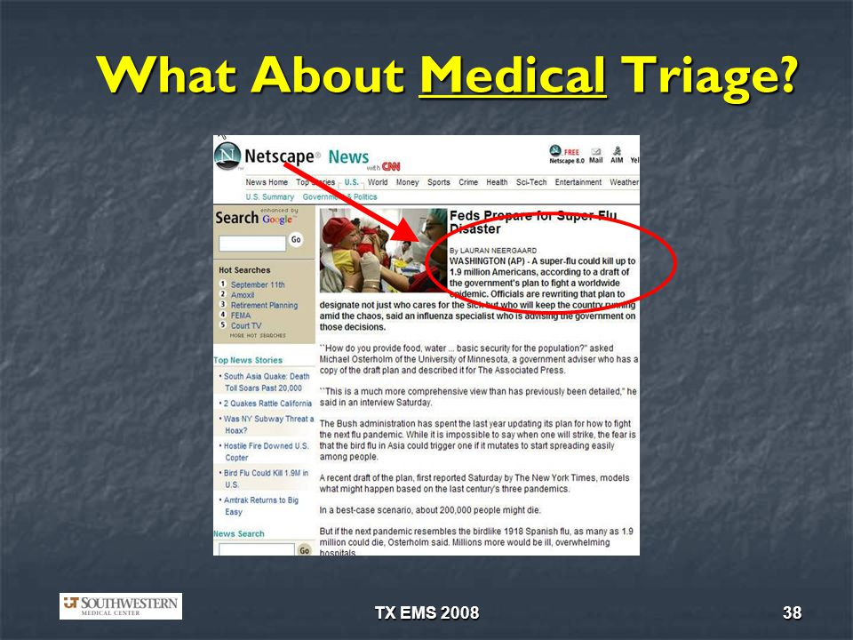 What About Medical Triage