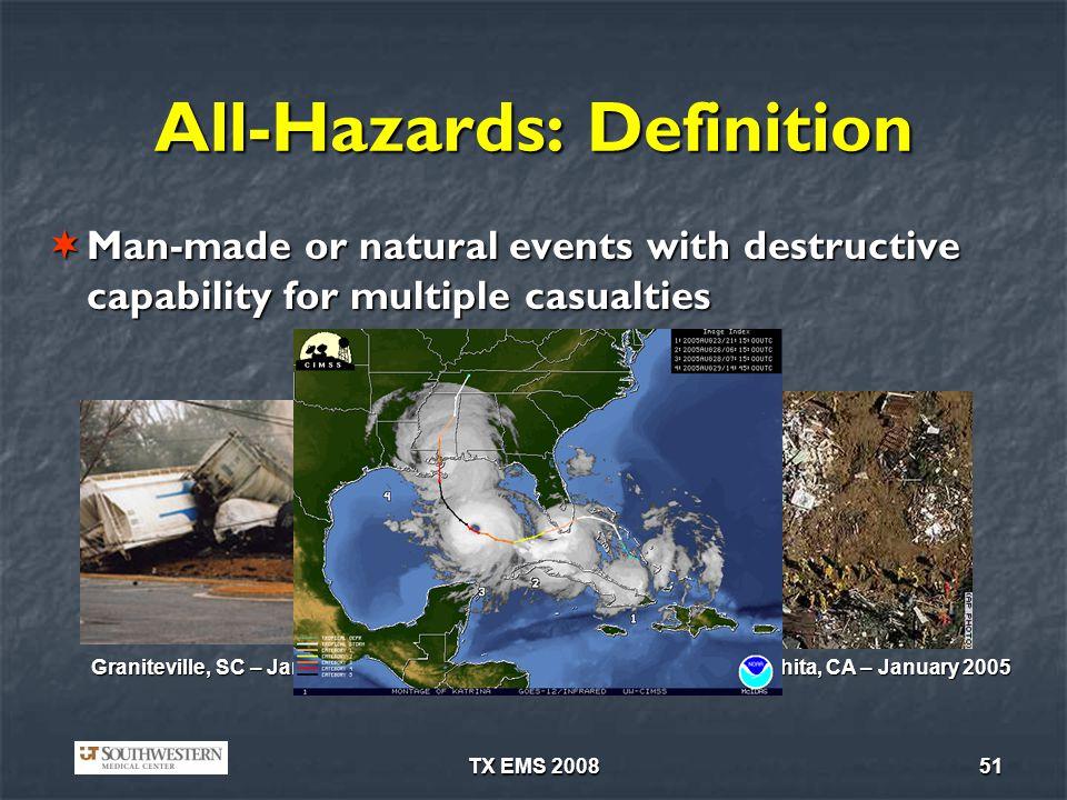 All-Hazards: Definition