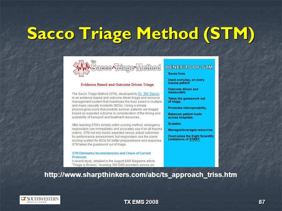 Sacco Triage Method (STM)