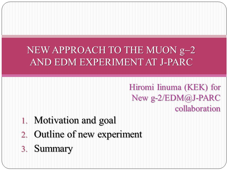 NEW APPROACH TO THE MUON g2 AND EDM EXPERIMENT AT J-PARC