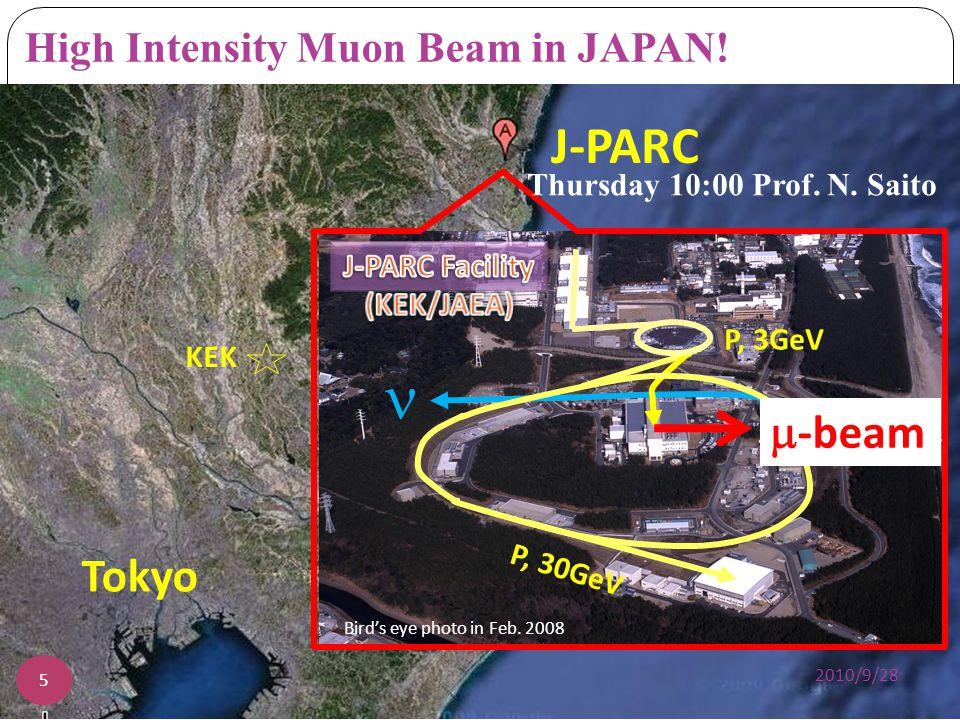 High Intensity Muon Beam in JAPAN!