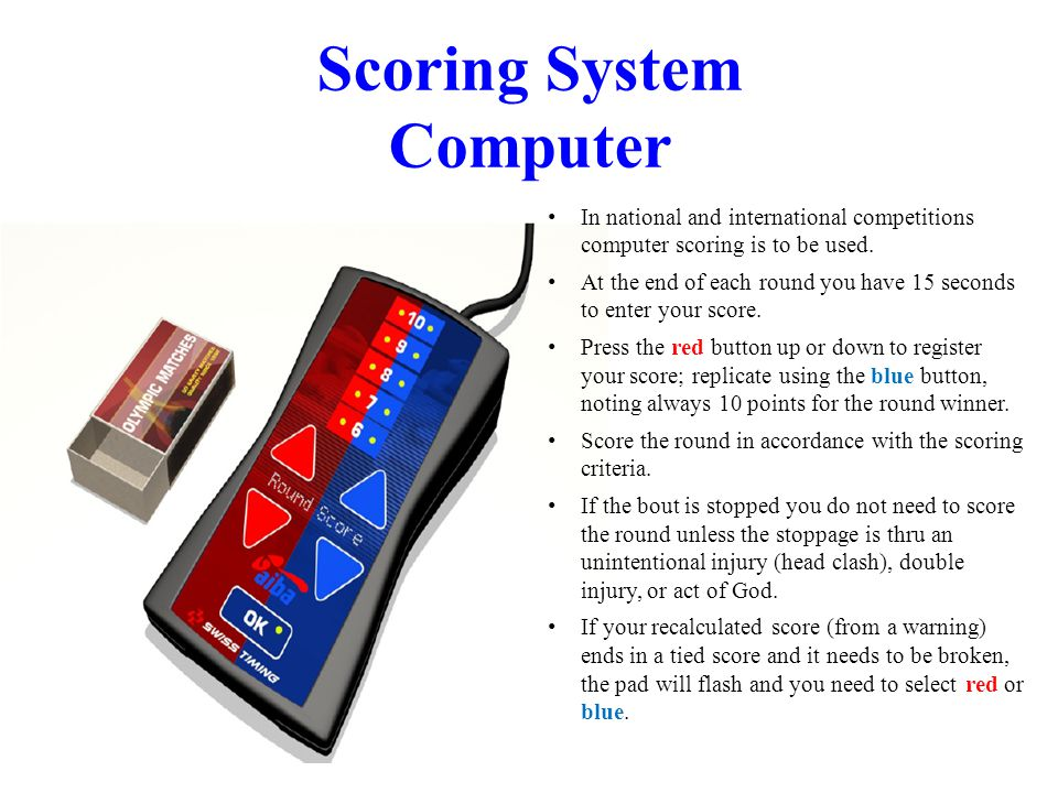 Scoring System Computer