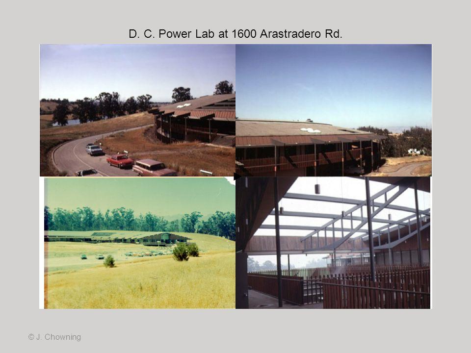 D. C. Power Lab at 1600 Arastradero Rd.