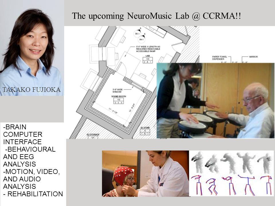 The upcoming NeuroMusic Lab @ CCRMA!!