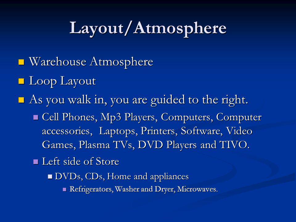 Layout/Atmosphere Warehouse Atmosphere Loop Layout