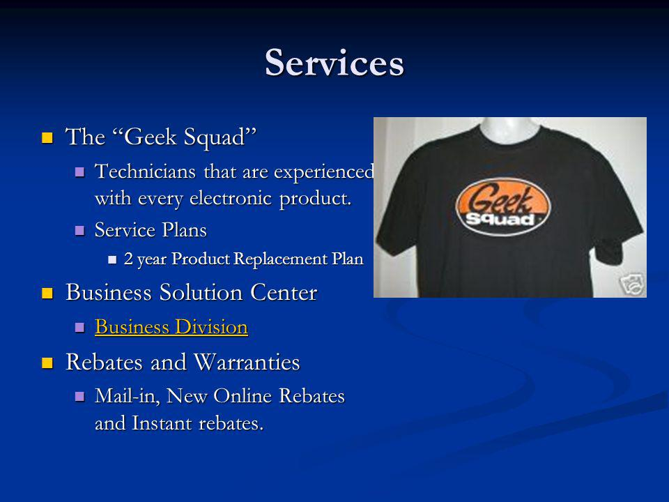 Services The Geek Squad Business Solution Center
