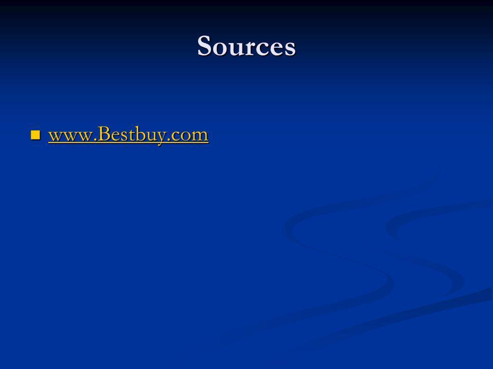 Sources www.Bestbuy.com