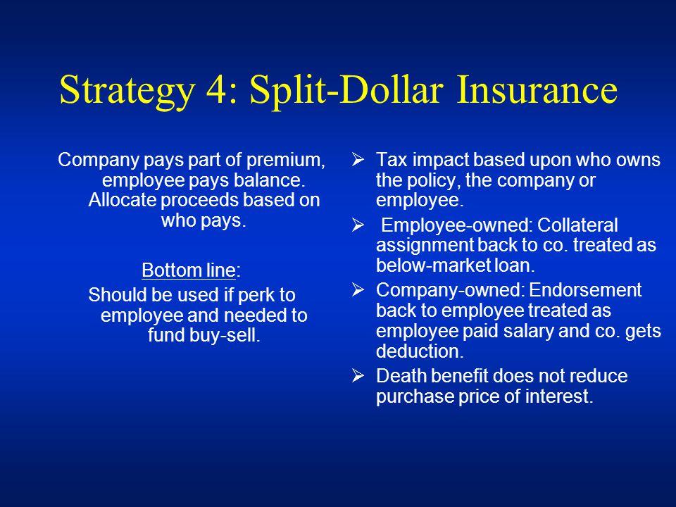 Strategy 4: Split-Dollar Insurance
