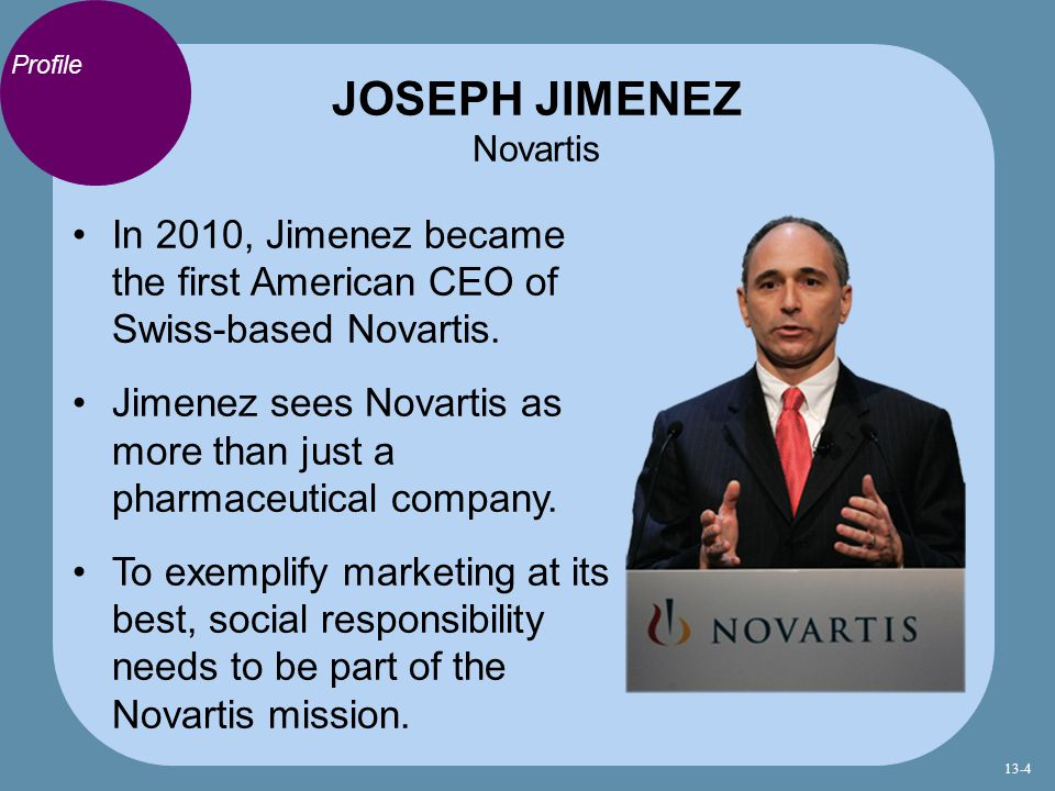 JOSEPH JIMENEZ Novartis