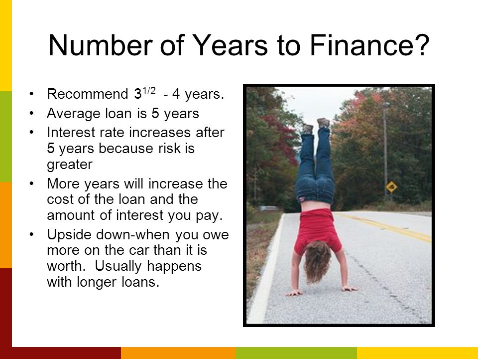 Number of Years to Finance