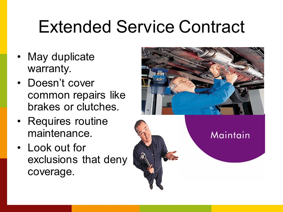 Extended Service Contract