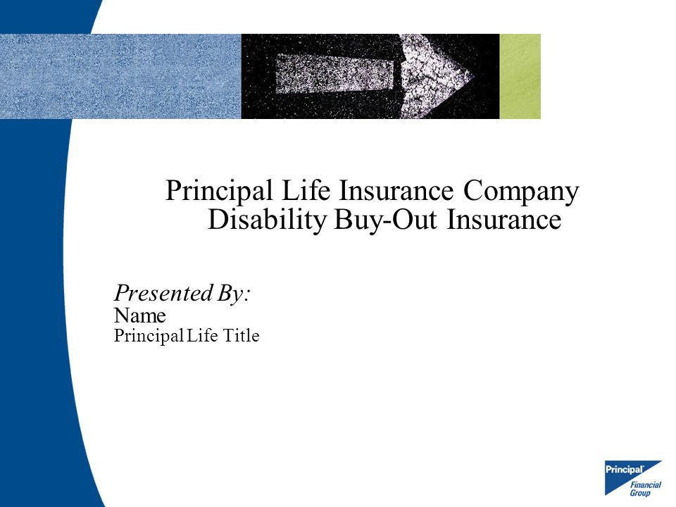 Principal Life Insurance Company Disability Buy-Out Insurance
