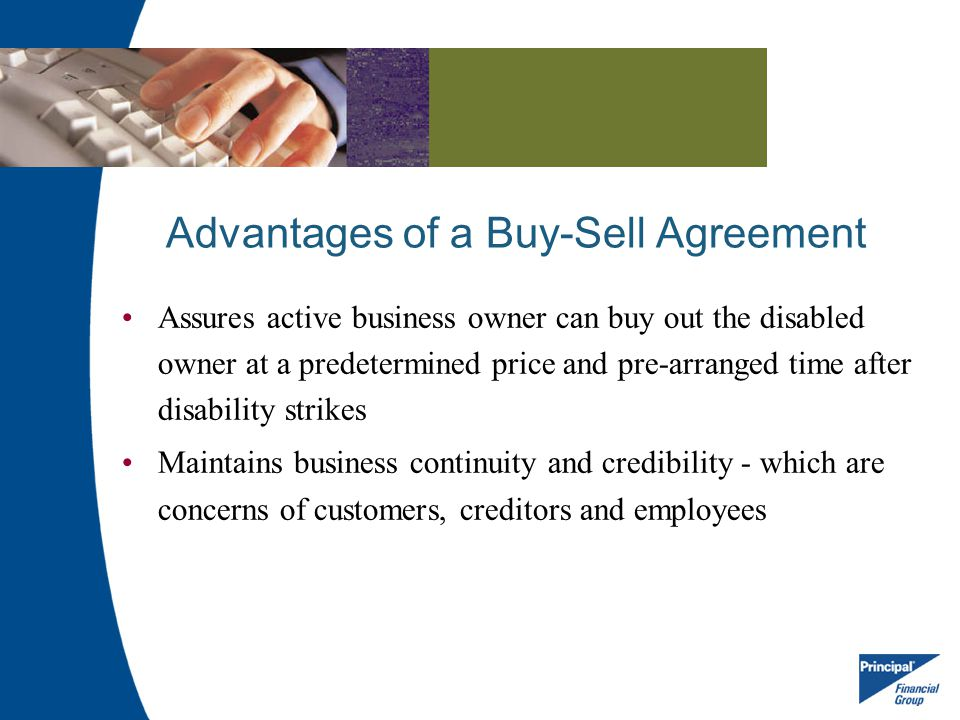 Advantages of a Buy-Sell Agreement
