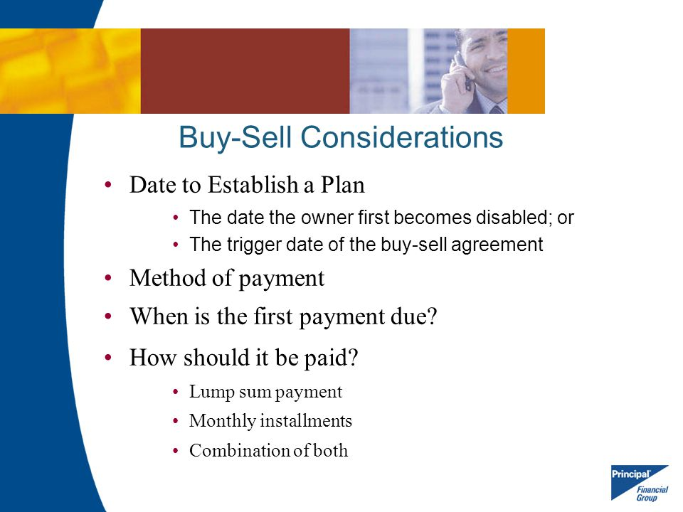 Buy-Sell Considerations