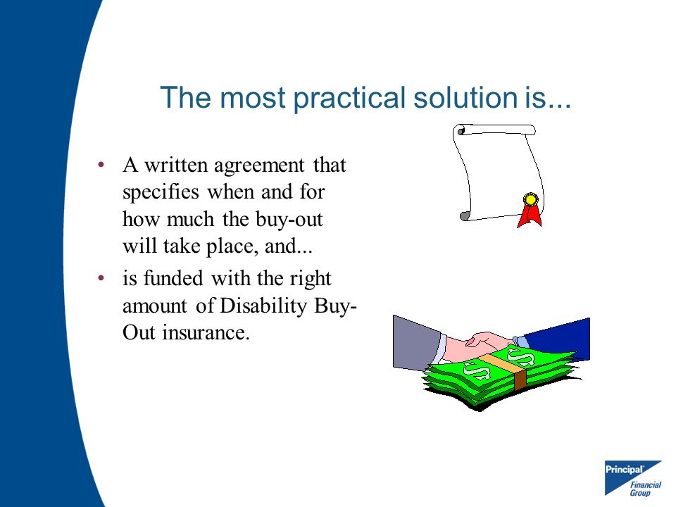The most practical solution is...