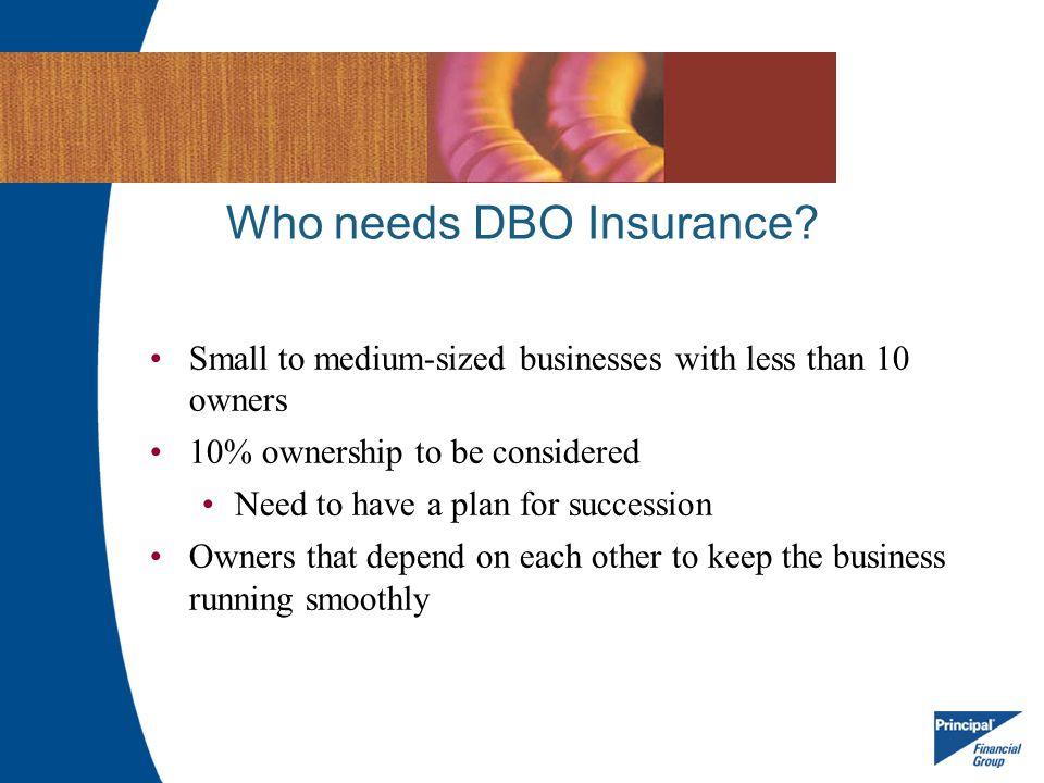 Who needs DBO Insurance