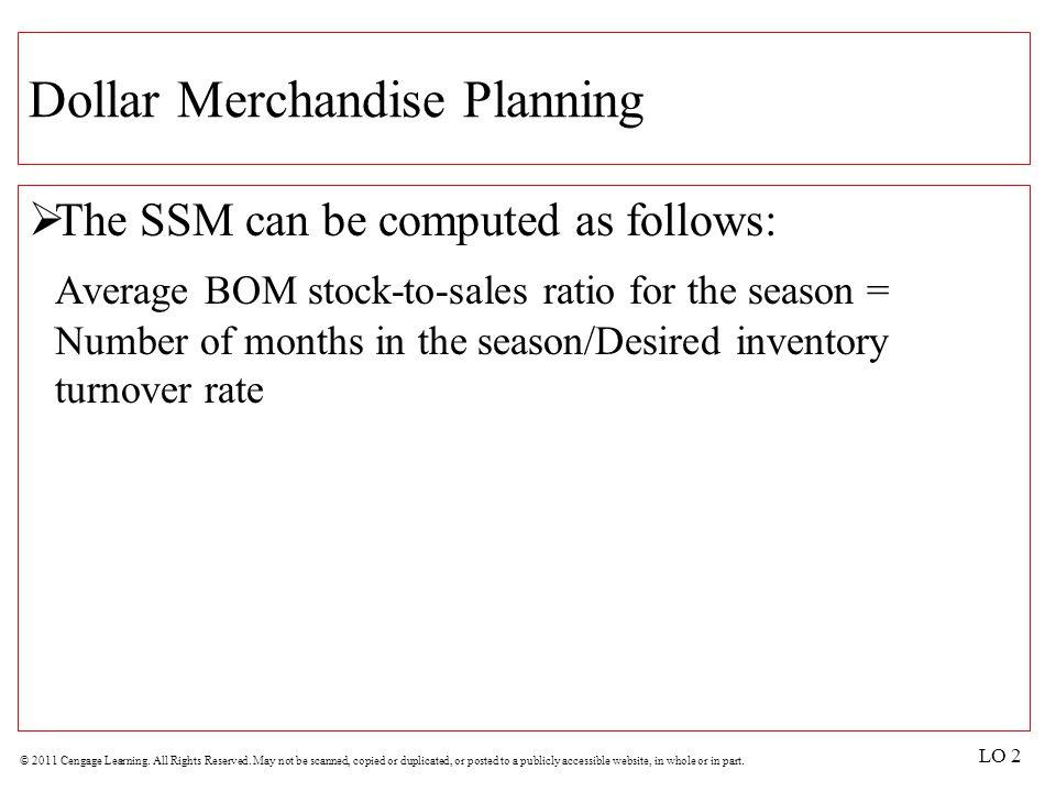 Dollar Merchandise Planning
