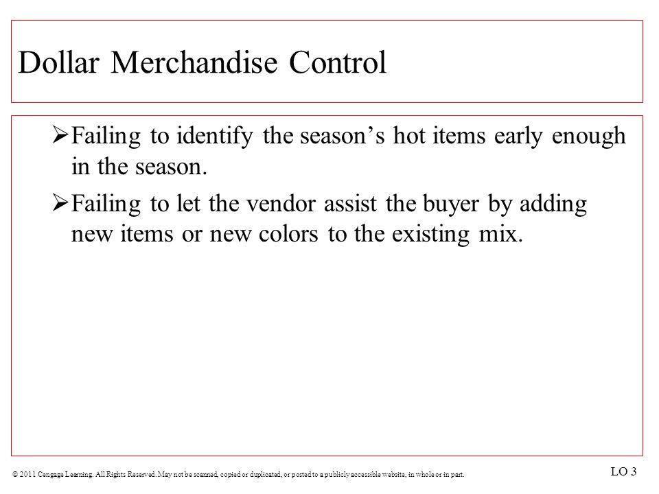 Dollar Merchandise Control