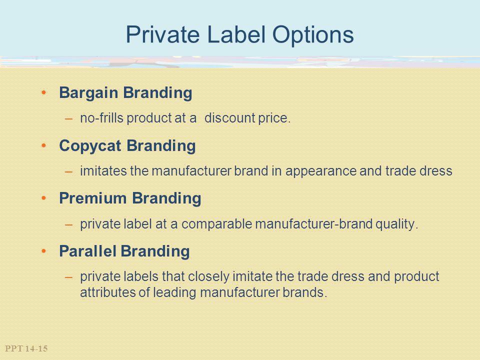 Private Label Options Bargain Branding Copycat Branding