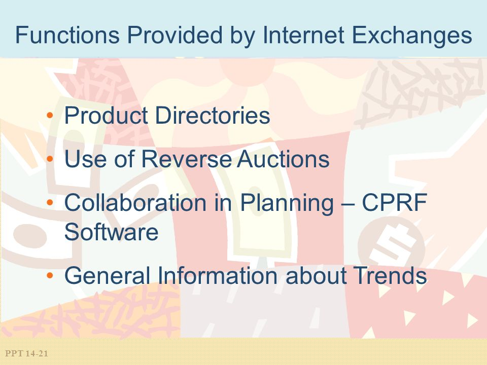 Functions Provided by Internet Exchanges