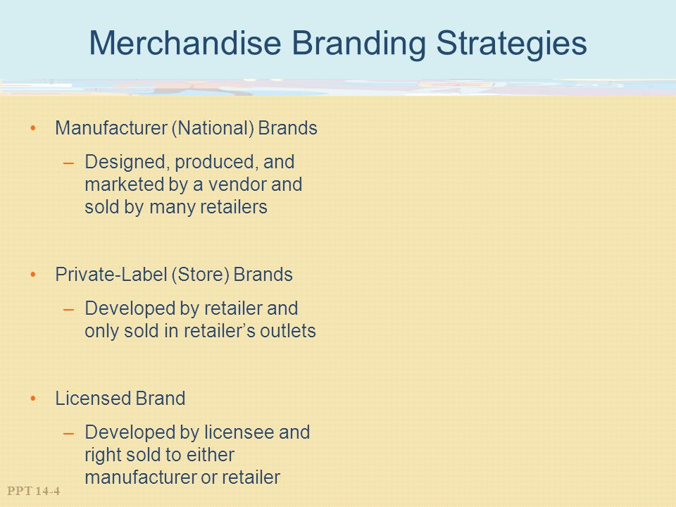 Merchandise Branding Strategies
