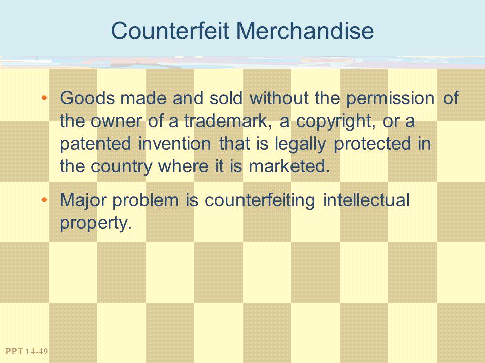 Counterfeit Merchandise
