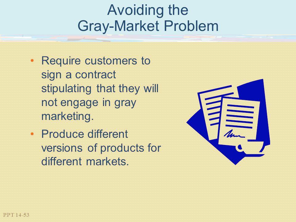 Avoiding the Gray-Market Problem