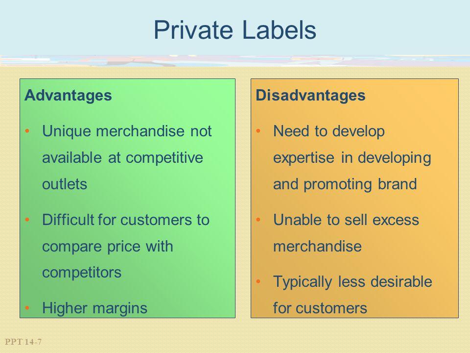 Private Labels Advantages
