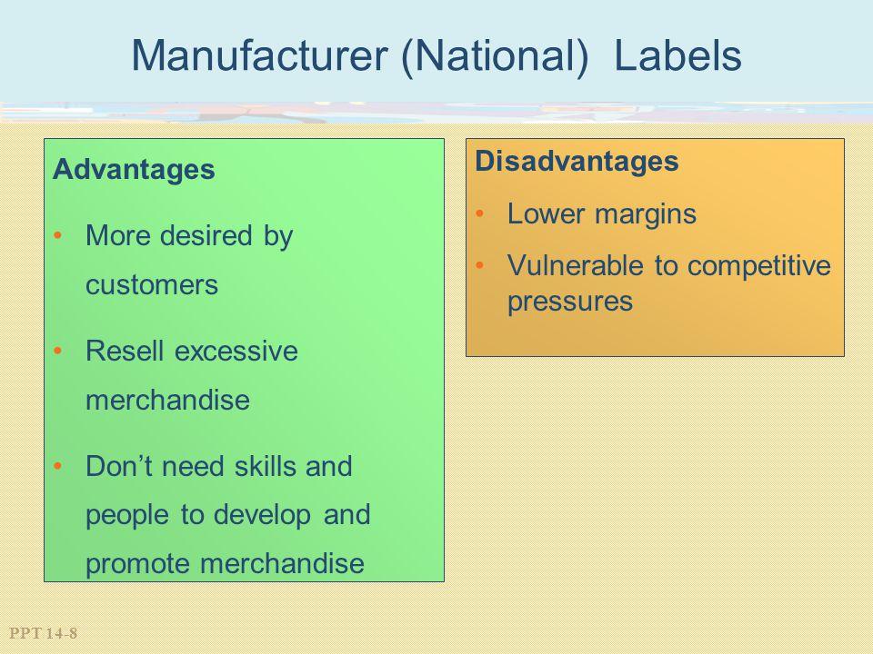 Manufacturer (National) Labels
