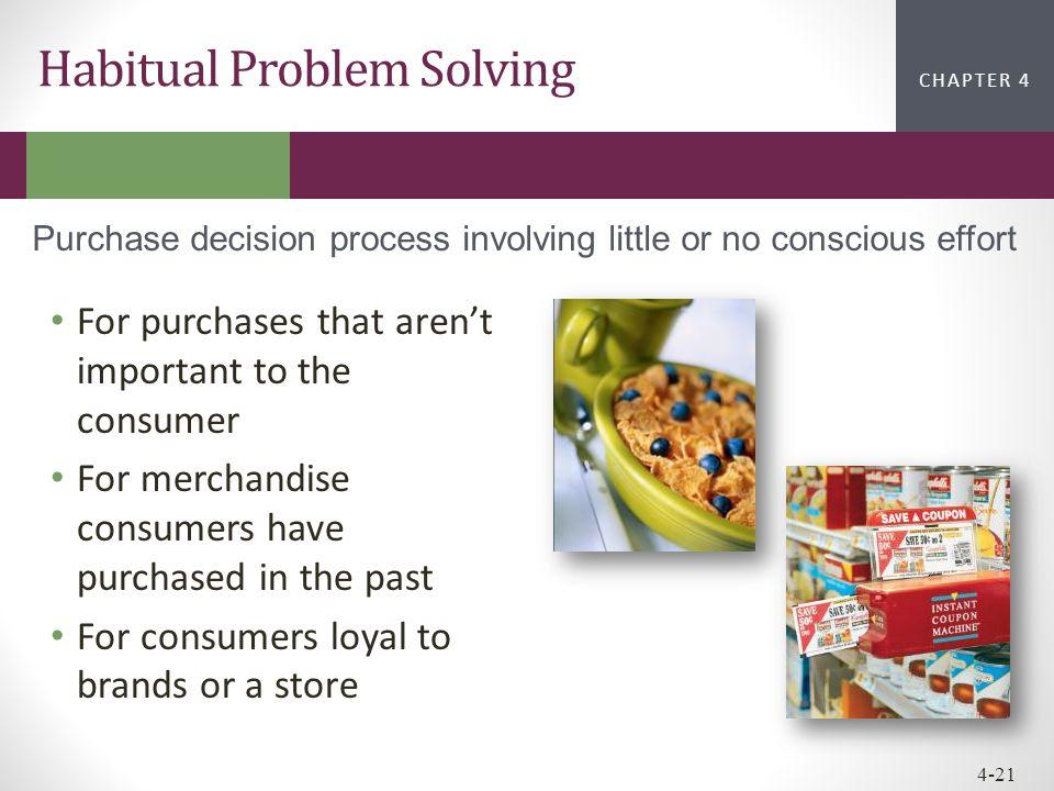Habitual Problem Solving
